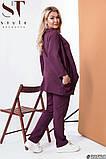 Женский деловой брючный костюм тройка  48,50,52р.(5расцв), фото 2