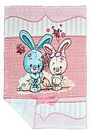 Конверт, одеяло, плед для новорожденных детское для девочки