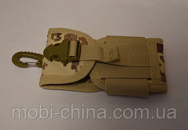 Чехол с карабином Camouflage