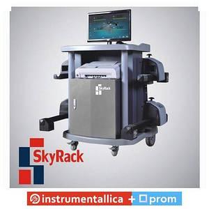 Компьютерный беспроводной стенд развал-схождения SR-5032D SkyRack