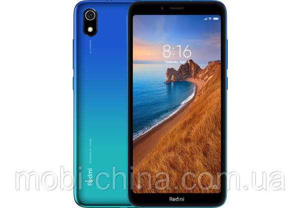 Xiaomi Redmi 7A 2/32Gb gem blue Global Version, фото 2
