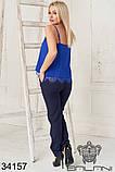 Женский летний костюм майка+брюки 3расцв.  (42-46р), фото 6