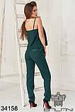 Женский летний костюм майка+брюки 3расцв.  (42-46р), фото 7