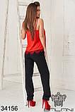 Женский летний костюм майка+брюки 3расцв.  (42-46р), фото 8