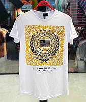 Чоловіча футболка біла DOD3
