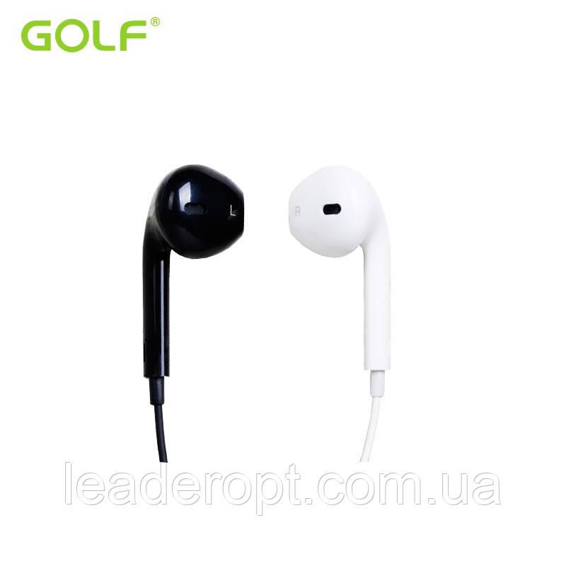 [ОПТ] Наушники проводные вакуумные Golf M1 с микрофоном