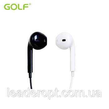 [ОПТ] дротові Навушники вакуумні Golf M1 з мікрофоном