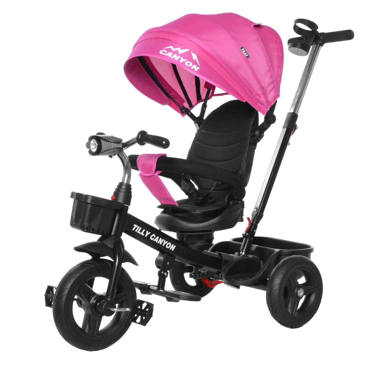 Велосипед трехколесный Tilly Canyon T-384 Розовый