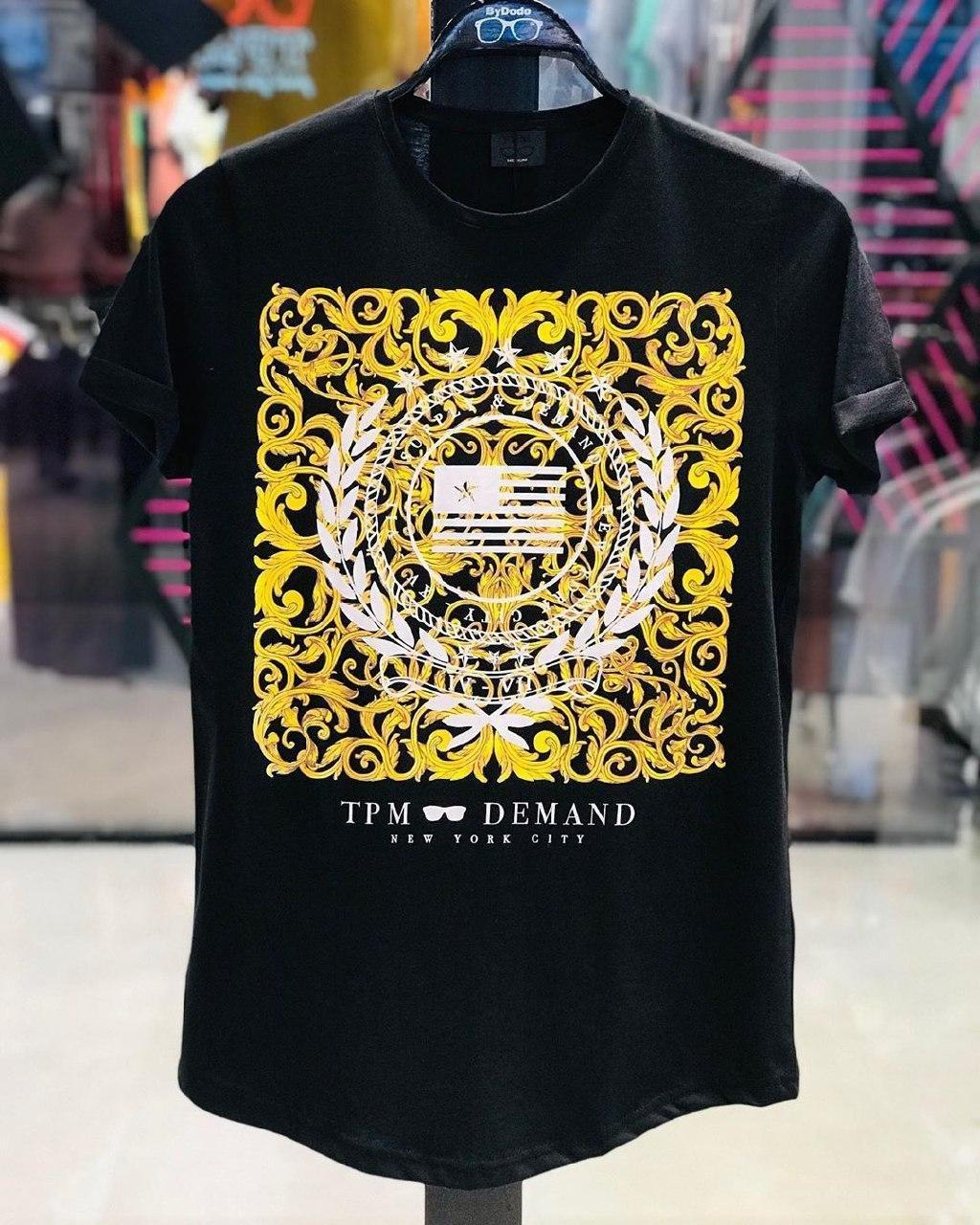 Чоловіча футболка чорна DOD4