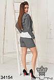 Женский костюм тройка -шорты, пиджак , майка (42-44;44-46р), фото 9