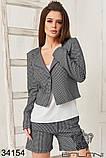 Женский костюм тройка -шорты, пиджак , майка (42-44;44-46р), фото 6