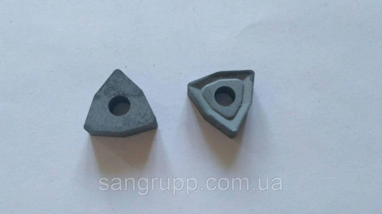 Пластина сменная 02114-080404 ВК8, Т5К10, Т15К6