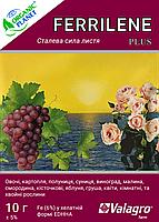 Ferrilene (Феррилен), 4,8 orto-orto, Хелат железа, 10 г, Valagro