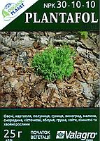 Plantafol (Плантафол), Минеральное удобрение, 25 г, NPK 30-10-10, Valagro