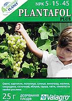Plantafol (Плантафол), Минеральное удобрение, 25 г, NPK 5-15-45, Valagro