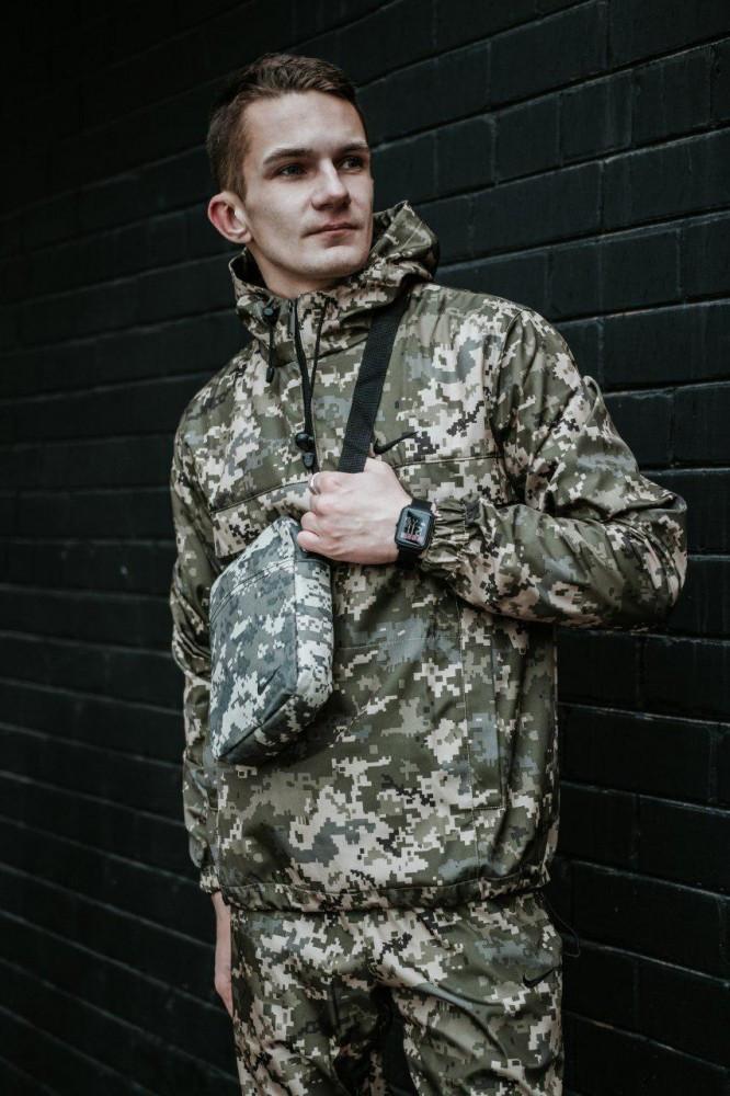 Мужской спортивный костюм Nike + барсетка в подарок 20996 камуфляж