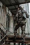 Мужской спортивный костюм Nike + барсетка в подарок 20996 камуфляж, фото 4