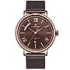 Мужские кварцевые наручные часы Naviforce NF3006 Brown-Cuprum, фото 5