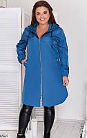 Женская куртка-плащ 4 цвета, фото 1