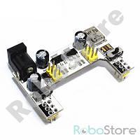 Модуль питания для макетной платы MB-102, Micro USB