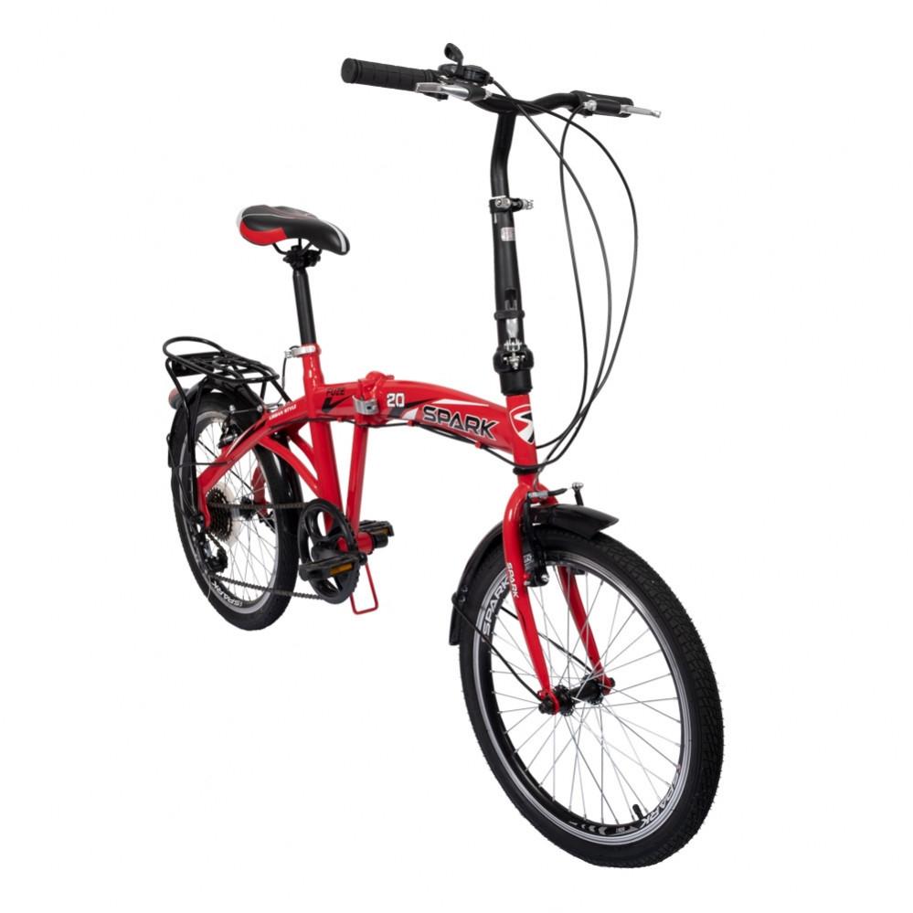 """Велосипед 20"""" со стальной рамой 10"""" SPARK FUZE"""