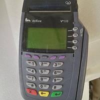 Настольный банковский POS-терминал VeriFone Vx510 б\у