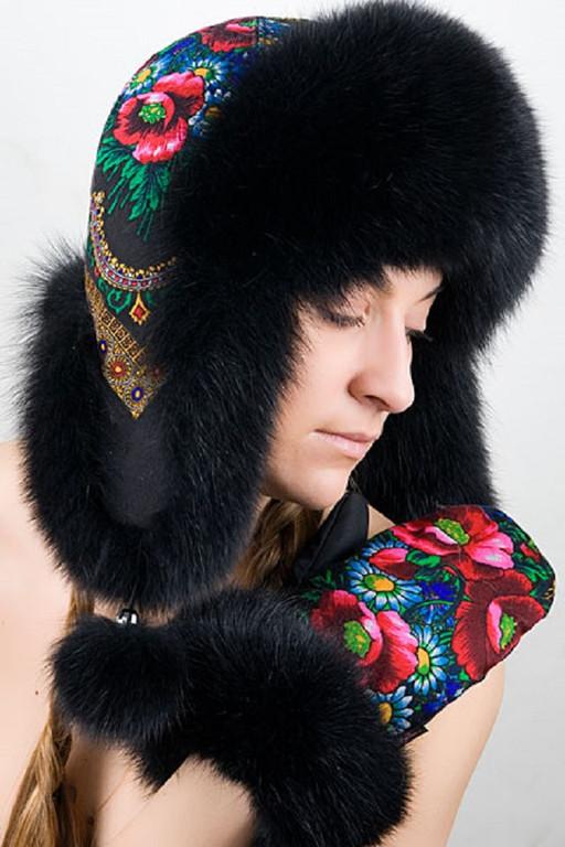 Шикарные меховые шапки и аксессуары из натурального меха 12