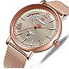 Мужские кварцевые наручные часы Naviforce NF3006 All Cuprum, фото 4