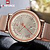 Мужские кварцевые наручные часы Naviforce NF3006 All Cuprum, фото 2