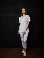 Медицинский женский костюм хирургческий (р.40-52) Белый