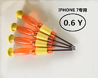 Отвертка Y 0,6mm для iPhone 7/7+/8/8+/X/Xr/Xs/Max/ Отвертки для ремонта iPhone