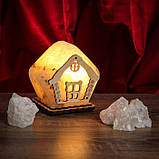 Соляной светильник Домик маленький, фото 3