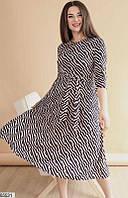 Длинное платье большого размера  3 цвета