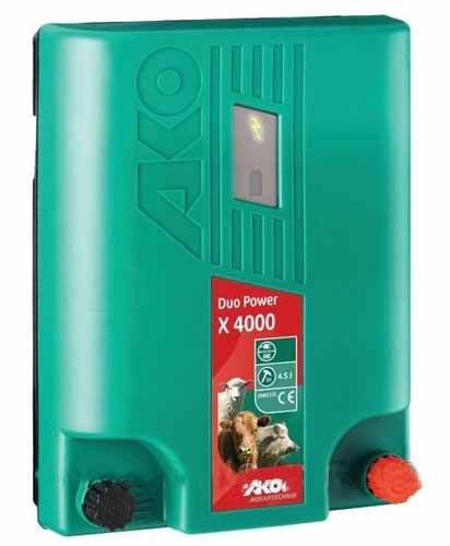 Универсальный электризатор электропастуха Duo Power Х4000