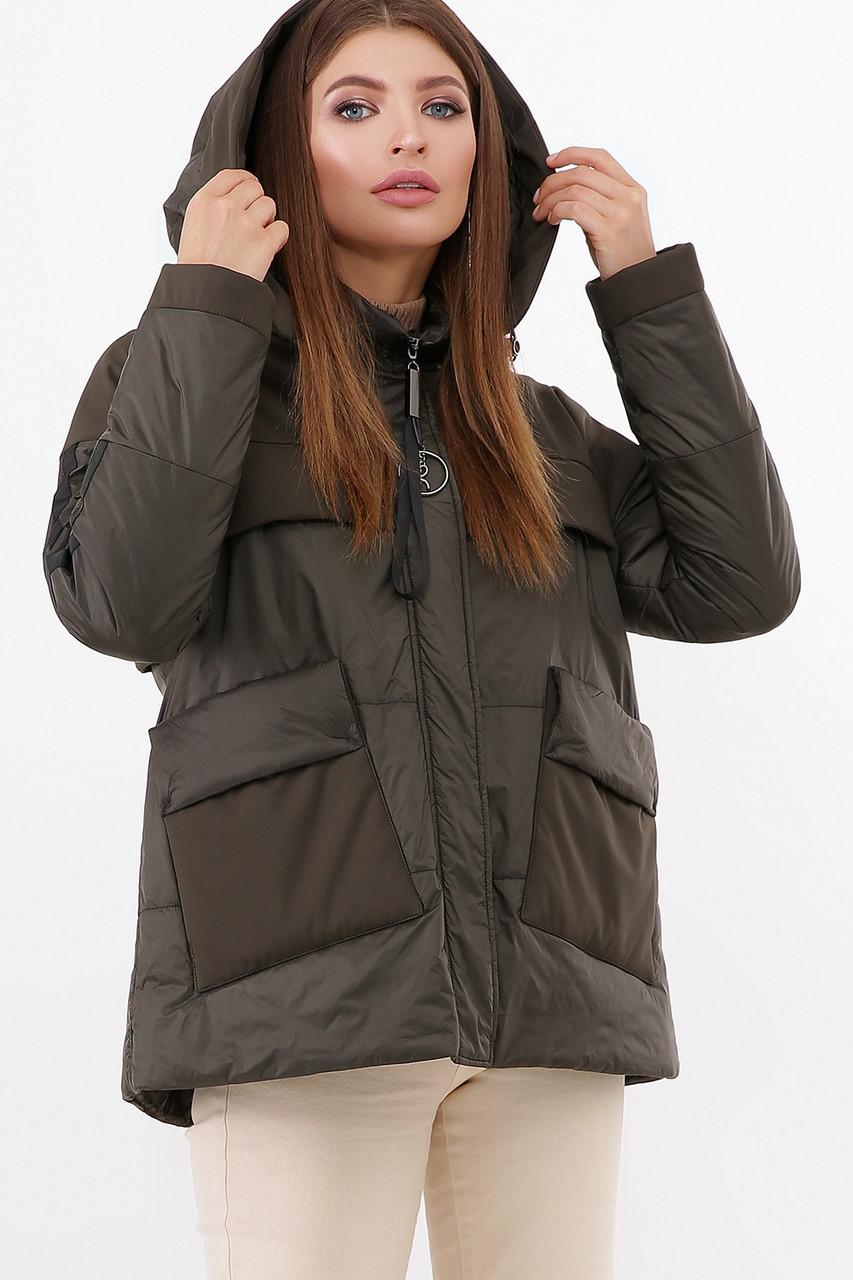 Короткая молодёжная курточка,  размер 44-50