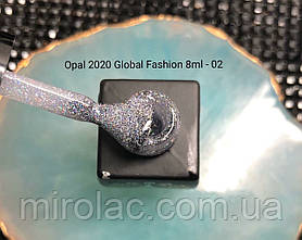 Гель-лак Opal #02  8ml Global fashion