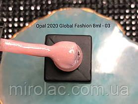 Гель-лак Opal #03  8ml Global fashion