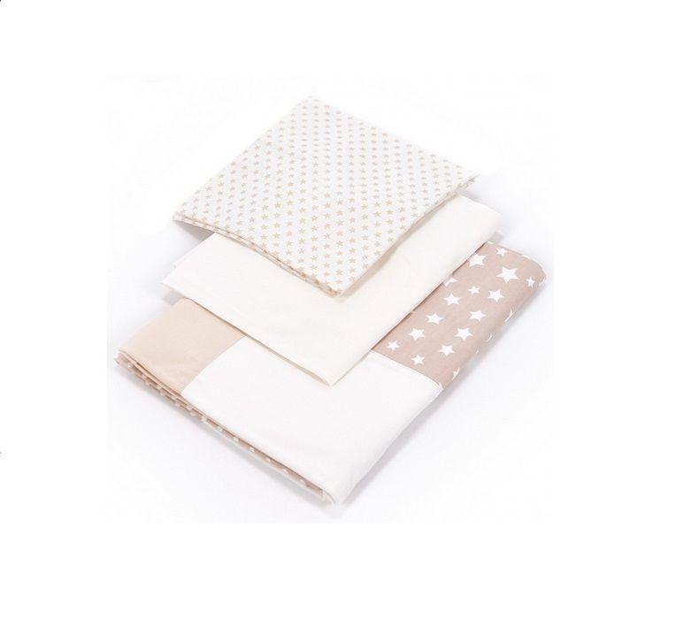 Сменный комплект для новорожденных Veres Smiling Animals beige 3ед