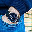 Часы мужские в стиле Armani. Мужские наручные часы черные. Часы с черным циферблатом Годинник чоловічий, фото 6