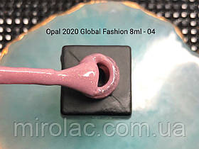 Гель-лак Opal #04  8ml Global fashion