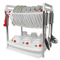 Настольная сушилка для посуды Multifunctional Dish Rack!