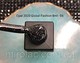 Гель-лак Opal #06  8ml Global fashion