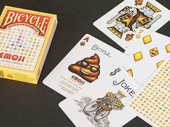 Покерные карты Bicycle Emoji, фото 2