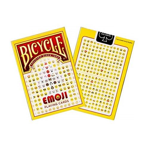 Покерные карты Bicycle Emoji