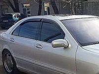 Дефлекторы окон, ветровики \ MERCEDES S-Class W220 (1998-2005) \ Мерседес 220 \ RACING