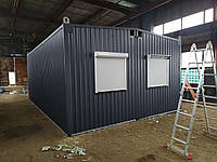 Вагончик Прорабка Роздягалка Блок-контейнер Битовка