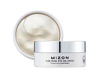 Mizon Pure Pearl Eye Gel Patch Гидрогелевые патчи с экстрактом белого жемчуга