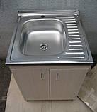 Мийка з тумбою 60х60 накладна (глибока), фото 6
