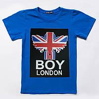 Футболка для мальчика р.128 SmileTime London, синий