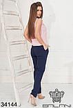 Красивый женский летний брючный костюм 42-44-46-48р.(3расцв), фото 6